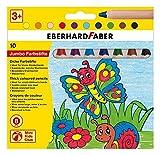Eberhard Faber 518910 - Mini Kids Club, 10 Buntstifte im Kartonetui