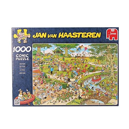 Preisvergleich Produktbild Jumbo 01492 - Jan van Haasteren - Der Park - 1000 Teile