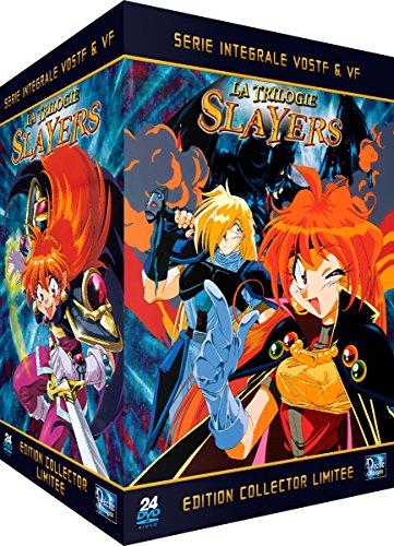 Slayers (La Trilogie) - Intégrale + Films - Edition Collector Limitée (24 DVD + Livrets)
