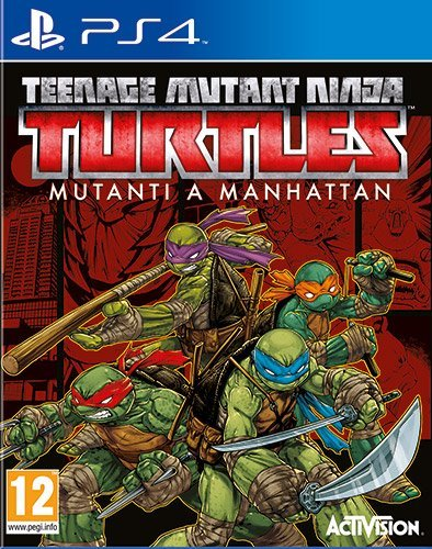 Teenage Mutant Ninja Turtles: Mutanti a Manhattan - PlayStation 4