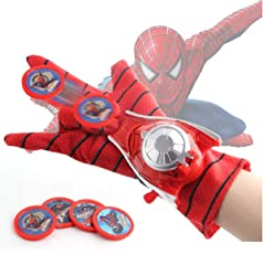 Fancydresswale Avenger disc Shooters with Light and Sound (Spiderman)