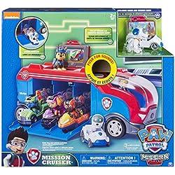 Paw Patrol Mission Cruiser vehículo de juguete - vehículos de juguete (Multicolor, Camión, 3 año(s), China, Batería, 1 pieza(s))