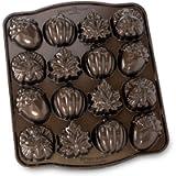 NordicWare 87048 Autumn Cakelet Pan Baking Tin Aluminium Brown
