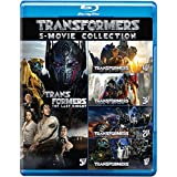 Transformers: The Complete 5 Movies Collection - Transformers (2007) + Revenge of the Fallen + Dark of the Moon + Age of Extinction + The Last Knight