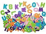 Unbekannt Set: 120 TLG.  Buchstaben - Glitzer  - Streumotive / selbstklebend - aus Moosgummi - als Tischdekoration / Basteln - 3-D Sticker & Aufkleber - zum Kindergeb..