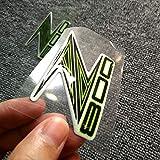 MUJUN Réserve Z 800 900 1000 Moto Decal Stickers Forme 3D emblème de réservoir for Pad Kawasaki Z800 Z900 Z1000 ABS Logo Autocollant Tapis (Color : 800)