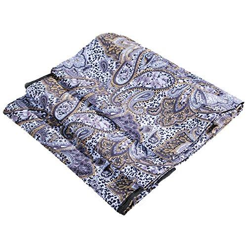 Unisex J S Shirts Schal aus Seide und Wolle, verschiedene Farben und Designs Gr. Einheitsgröße, beige (Samuel Creme)