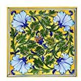 #10: Om Craft Villa Blue Pottery Decorative Tiles For Wall