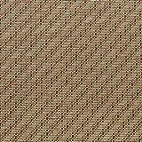 GWXDT Tappeto Naturale Rattan Tappeto Tappeto Soggiorno Camera da Letto Tappeto Rettangolare Tappeti Tavolino Divano Cucina, Spessore 15mm 2 Tinta Unita (Colore : B, Dimensioni : 120 * 180cm)
