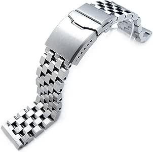 21,5 mm Super Ingénieur II solide Bracelet Montre pour SEIKO