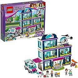Lego Friends-41318 Friends Hospital de Heartlake, Multicolor, Miscelanea (41318)