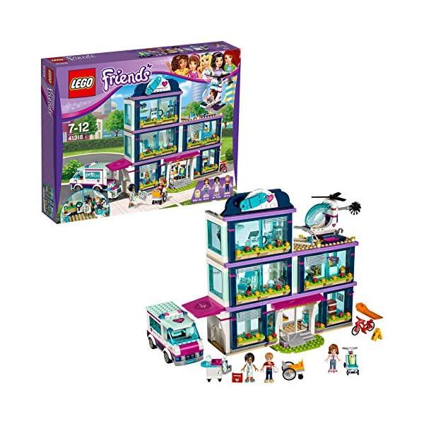 LEGO- Friends L'Ospedale di Heartlake, Multicolore, 41318 1 spesavip