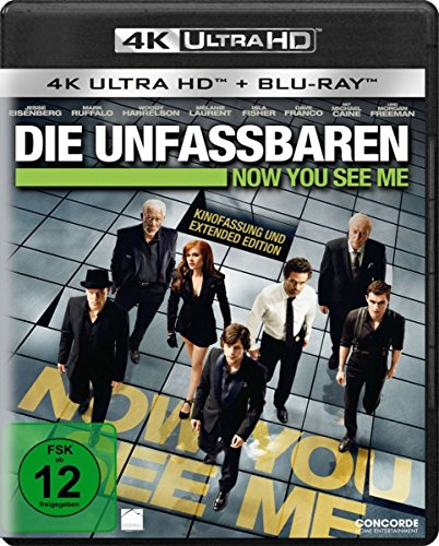 Die Unfassbaren - Now you see me - Ultra HD Blu-ray [4k + Blu-ray Disc]