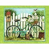 Lang Blau Fahrrad Box Mitteilungskarten von Susan Winget, 10,2x 12,7cm, 13Karten und Umschläge (1005302)