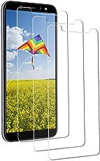 Yokimico [3 Stück] Samsung Galaxy A6 2018 Panzerglas Schutzfolie Displayschutzfolie Gehärtetem Glas 9H Härte Ultra Transparenz für Samsung Galaxy A6 2018