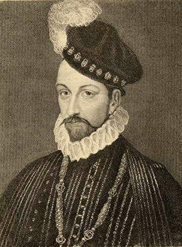Ken Welsh / Design Pics - Charles Ix 1550-1574 King Of France Born Charles-Maximilien The Son Of King Henry Ii Of France And Catherine De Medici. Photo-Etching From A Painting By T. Wageman. From The Book _ Lady Jackson S Works Vii. The Last Of The Valois I Published London 1899 Photo Print (33,02 x 43,18 cm) -