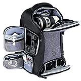 Beschoi Kamerarucksack wasserdicht Fotorucksack mit Laptopfach für DSLR...