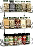#8: Callas 3 Tier Wall Mounted Spice Rack Kitchen Organiser, Chrome CA. 67