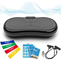 Bluefin Fitness Ultra Slim Power Vibrationsplatte | Fett verlieren und Fitnesstraining von Zuause | 5 Trainingsprogramme…