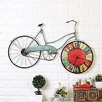 YANLIANG X&L American Iron bicicleta del vintage reloj de pared hogar creativo dormitorio sala de estar