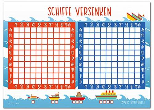 schiffe-versenken-block-50-blatt-spielblock-reisespiel-fuer-jungen-und-maedchen-aus-papier-das-flott