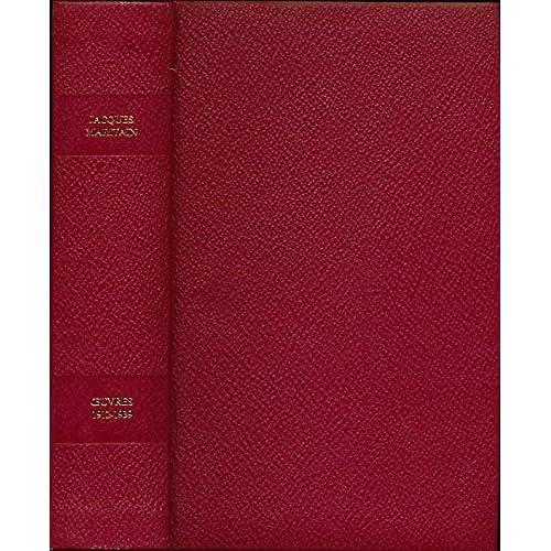 Oeuvres : 1912-1939 - Choix, présentation, chronologie, bibliographie et notes de Henry Bars