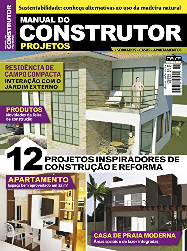 Manual do Construtor Projetos Ed. 11 - 12 Projetos (Portuguese Edition) por Edicase