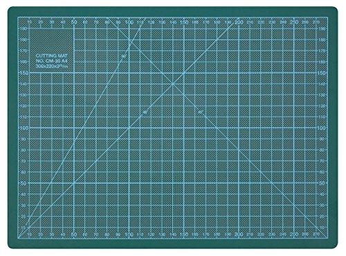 Wedo 79130 Schneideunterlage Cutting Mat A4 (CM 30, selbstschließende Oberfläche, 30 x 22 x 0,3...