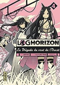 Log Horizon : La brigade du vent de l'ouest Edition simple Tome 4