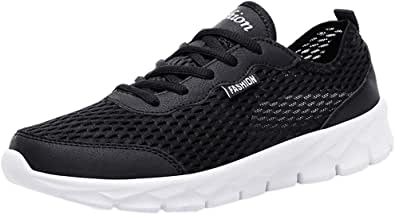 KPILP Couple Shoes Men Women Sports Gym Casual Shoes Mesh Breathable Casual Shoes Students Lightweight Freedom Running Shoes