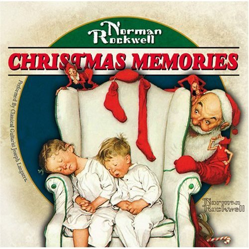 Norman Rockwell Christmas Memories * 4 Cd Set * 4 Great Cd SET -