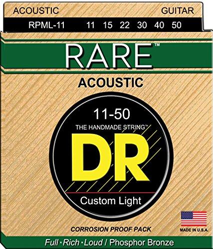 DR String RPML-11 Rare Set di corde per chitarra acustica