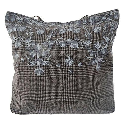 Borsa decorativo di lana accessori grandi donne della borsa materiale borsa da viaggio a mano zingara nero articolo da regalo bag boho spesa