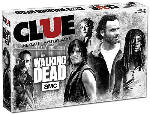Clue The Walking Dead Edition Juego De Mesa