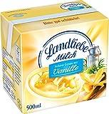 Landliebe haltbare Landmilch Vanille, 12er Pack (12 x 500 ml)