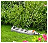Best Garden Sprinklers - Quantum Garden Z23 Line Oscilating Sprinkler, White Review