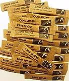 100 x Fairtrade Brown Sugar Sticks