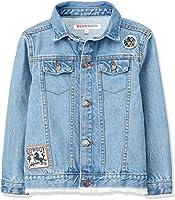 RED WAGON Giacca di Jeans Bambino, Blu (Blue), 104 (Taglia Produttore: 4 Anni)