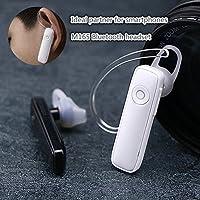 wanhuixing Auriculares inalámbricos de la música de M165 Auriculares bluetooth inalámbricos mini Auriculares Se aplica a Apple iphone / Android / Samsung(random color)