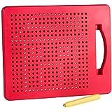 Playmags Magna Diseño de Dibujo y Tableta de Dibujo Bolas magnéticas integradas, lápiz óptico y Tablero de Transporte para ni