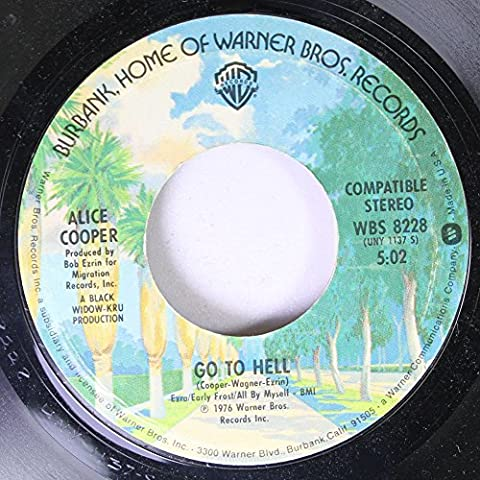 Alice Cooper 45 RPM Go to Hell / I never