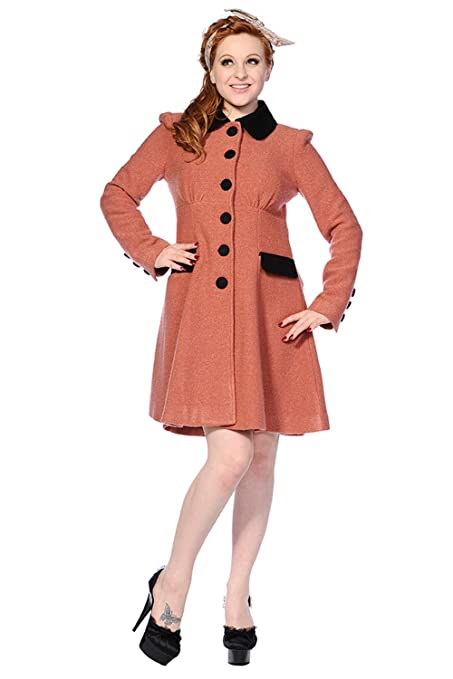 1950s Jackets and Coats | Swing, Pin Up, Rockabilly Banned Vintage Coat £88.99 AT vintagedancer.com