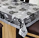 #7: Yellow Weaves™ Dining Table Cover Waterproof Floral 6 Seater 60X90 Inches( Exclusive Design)