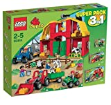 LEGO® DUPLO® 66454 Bauernhof Super Pack 3 in 1