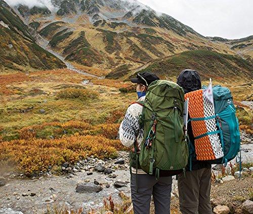 HWLXBB Outdoor Rucksack Sport Bergsteigen Tasche Reloading Bergsteigen Tasche Outdoor Rucksack Männer und Frauen Safari Camping Bag 65L Large Capacity Rucksack Green65L