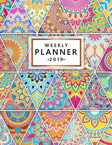 Descargar PDF Gratis Weekly Planner 2019: Cute Hand Drawn