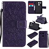 LG Google Nexus 5X Case,BONROY® LG Google Nexus 5X Mandala PU Leather Phone Holster Case, Flip Folio Book Case, Wallet Cover with Stand Function, Card Slots Money Pouch Protective Leather Wallet Case for LG Google Nexus 5X