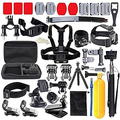 Edose Bundle d'accessoires Essentiels pour Akaso Ek7000 GoPro Hero5 GoPro