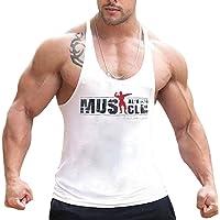 Alivebody Débardeurs Homme Musculation Vêtements Bodybuilding Tank Top sans Manches