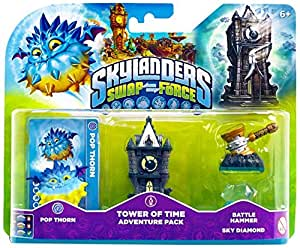 Skylanders Swap Force - Adventure Pack (Pop Thorn, Tower, Diamonds, Hammer)